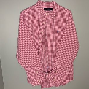 Polo Button-down Dress Shirt (dry cleaned)